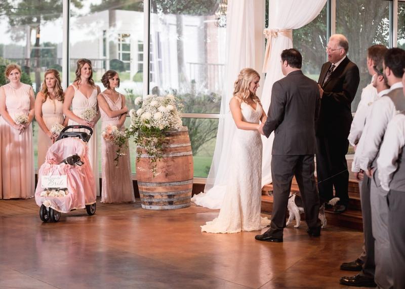 Rustic wedding at House Plantation