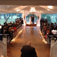 rose petals and indoor weddings at House plantation
