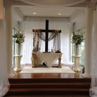 Christian wedding at House Plantation