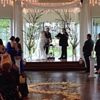 bride and groom indoor wedding decor Houston.JPG