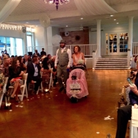 here comes the bride!!!