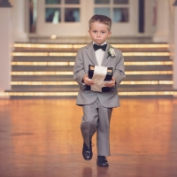 serious ring bearer at House Plantation