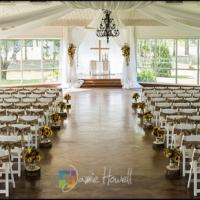 Breathtaking indoor summer wedding at Houston venue