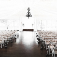 beautiful indoor wedding in september at a Houston mansion wedding venue