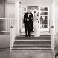 father and bride pics by Eric & Jenn Photography