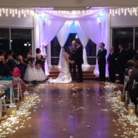 indoor wedding house plantation