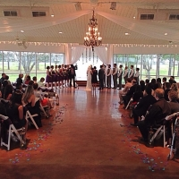 indoor weddings at House Plantation in march