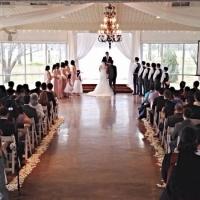 indoor weddings at house plantation