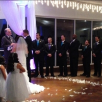 indoor weddings at night house plantation