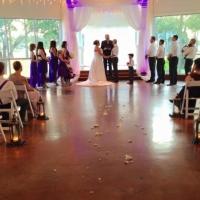 summer wedding saying I Do in Houston