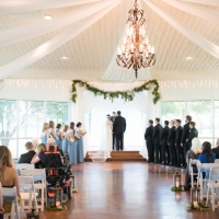 taking vows pics by Eric & Jenn Photography