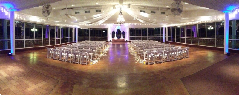 indoor wedding houseplantation
