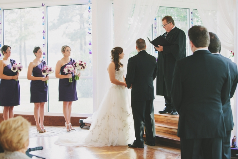 indoor wedding vows