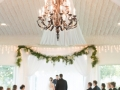 chandalier and saying I do pics by Eric & Jenn Photography