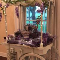 Candy-bar-at-House-Estate-in-purple-hues-in-April