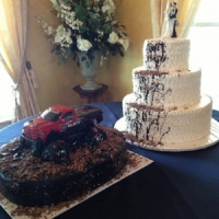 creative wedding cakes at House Plantation