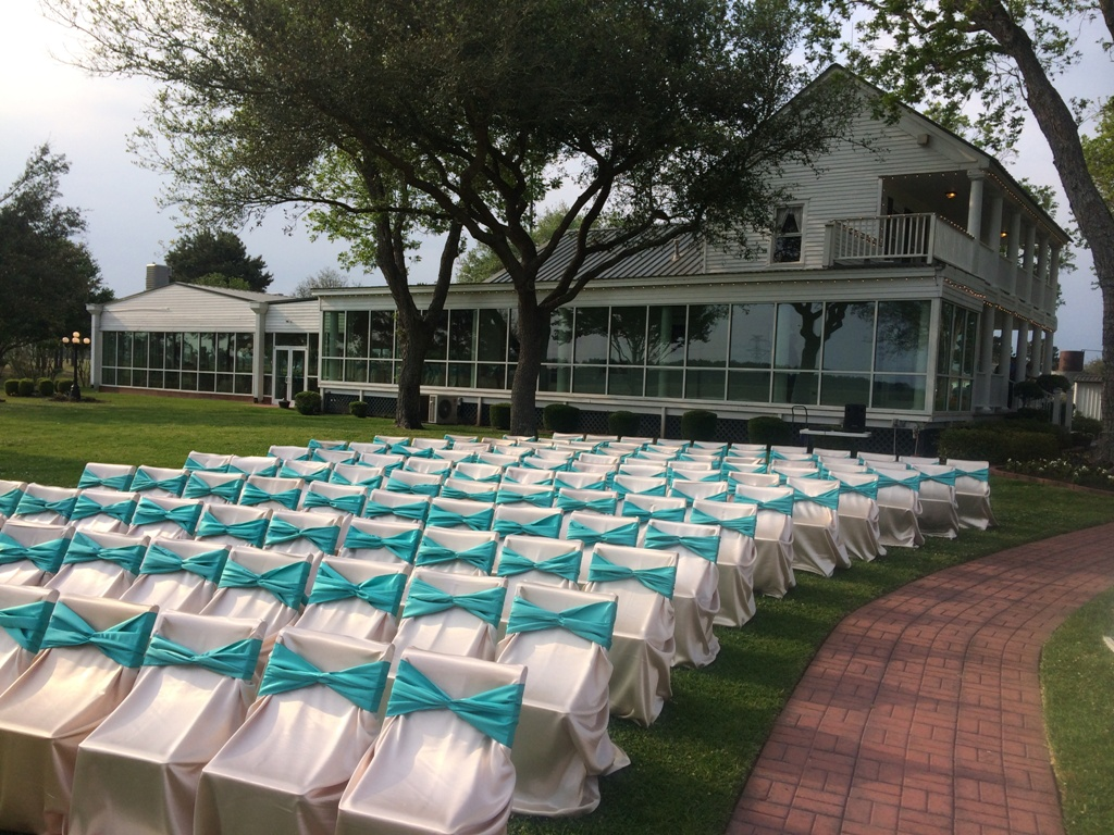 outdoor ceremony wedding venue in Houston Tx