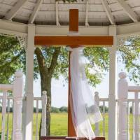 Cross in the Gazebo