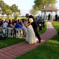Just got hitched at an outdoor wedding at House Plantation