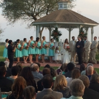 houston outdoor wedding venue at House Plantation
