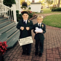 check out these cute ring bearers