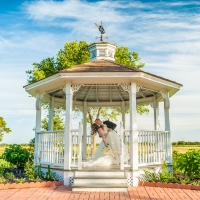 Gazebo Dip - houston outdoor wedding venue