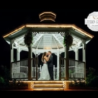 lighted gazebo at House Plantation