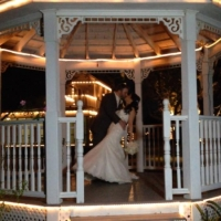 outdoor weddings at the gazebo wedding venue in Houston Tx