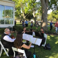 stringed quartet at House Estate