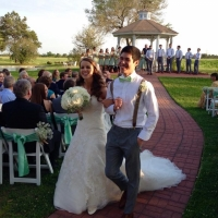 wedding couple walking down the aisle.JPG