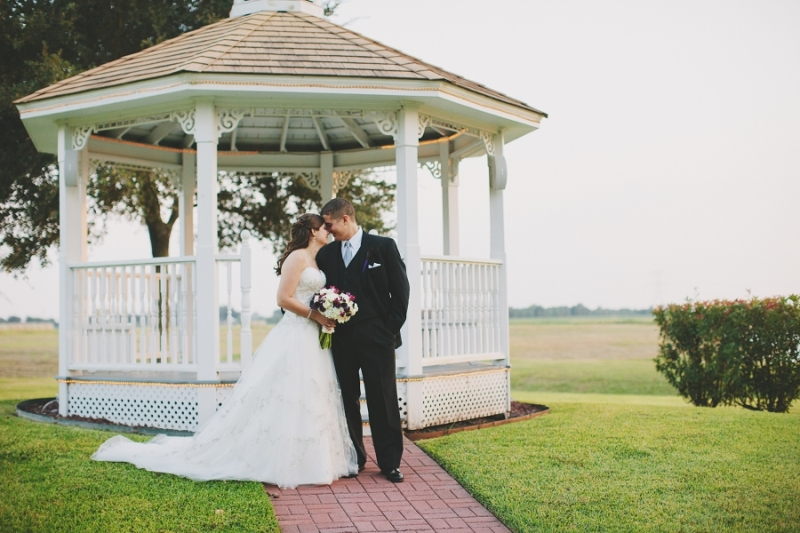 gazebo and love - wedding venue in Houston Tx
