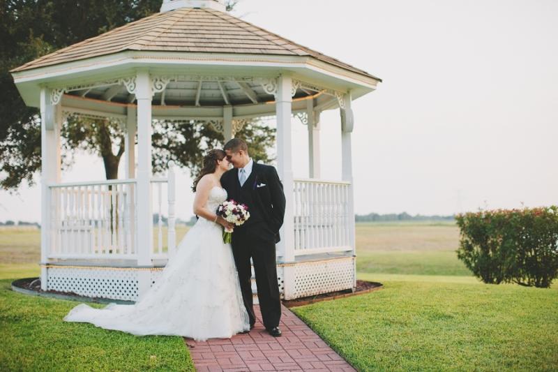 gazebo and love - wedding venue in Houston Tx