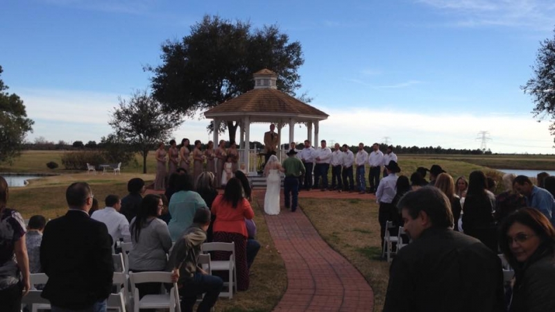 gazebo weddings in Houston - houston outdoor wedding venue