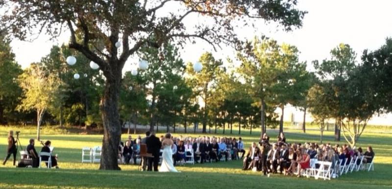 outdoor wedding option