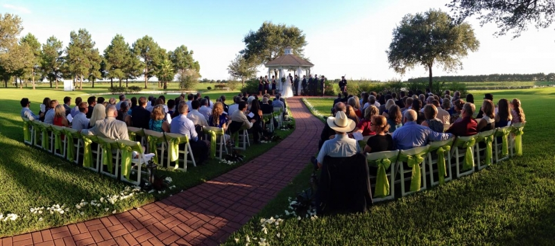 september outdoor wedding at House Plantation