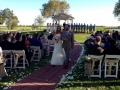 bride and groom at outdoor ceremony in Houston.JPG