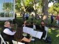 stringed quartet at House Estate