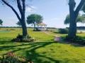 view of gardens,lake and gazebo at House Estate