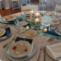 Wedding reception photos - catered receptions at House Estate