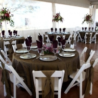 elegant reception at House Plantation - wedding reception photos