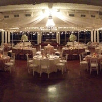 night receptions at house plantation - wedding reception photos