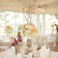 Wedding reception photos - receptions and beautiful flowers