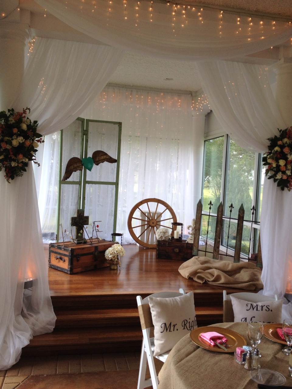 Wedding reception photos - receptions your style at House Plantation