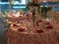 Wedding reception photos - reception with a lake view