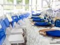 place settings for reception table in Houston