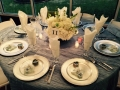 Wedding reception photos - reception table with gifts