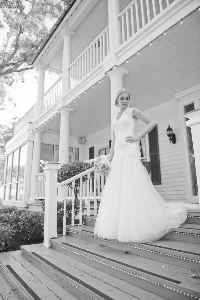 Bridal photo ops at House Plantation