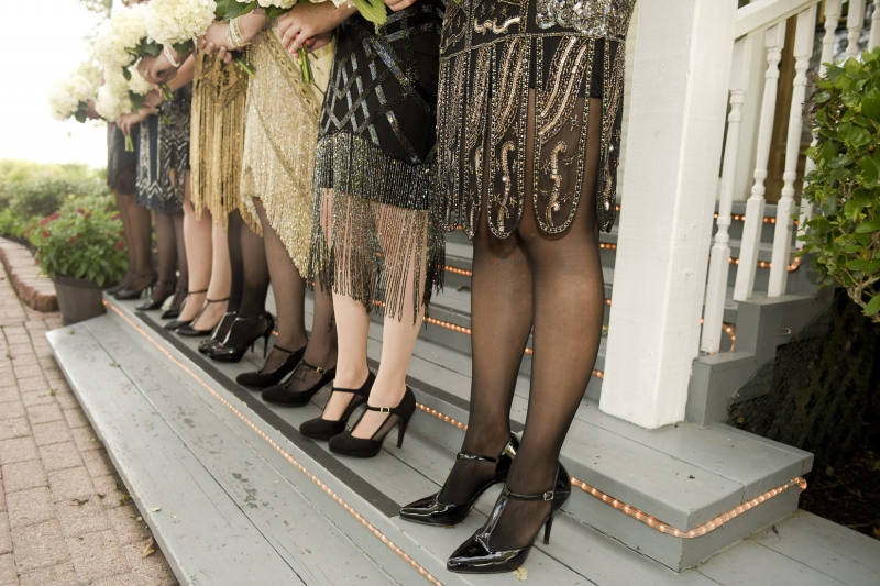 Great Gatsby wedding at House Plantation