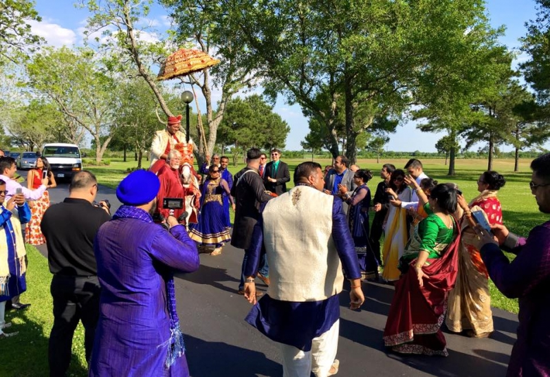 Indian wedding at House Plantation