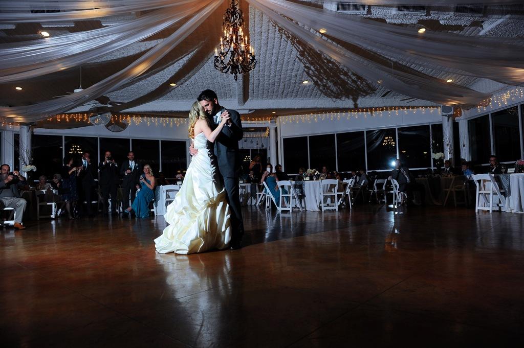 bride and groom dance - wedding venue photos